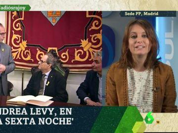 Andrea Levy en laSexta Noche