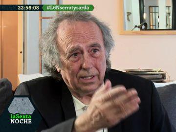 El rotundo alegato vital de Joan Manuel Serrat frente adversidades como el cáncer