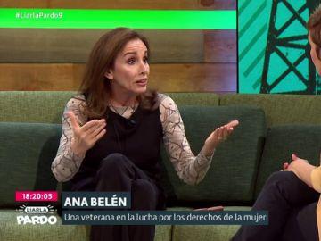 Ana Belén con Cristina Pardo