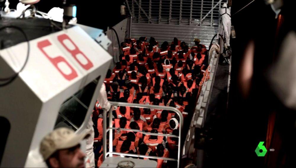 629 personas han sido rescatadas en el Mediterráneo