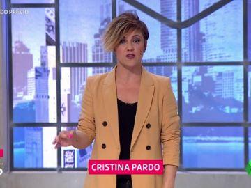 """La reflexión de Cristina Pardo sobre la corrupción: """"Por primera vez en mucho tiempo un político dice la verdad (y es Rajoy), 'que alguien pare, coño'"""""""
