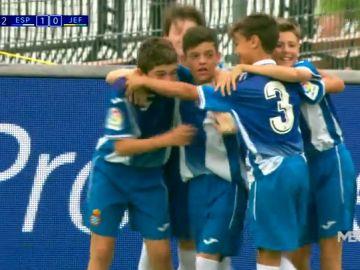 El Espanyol se clasifica para la final de LaLiga Promises tras golear al JEF United