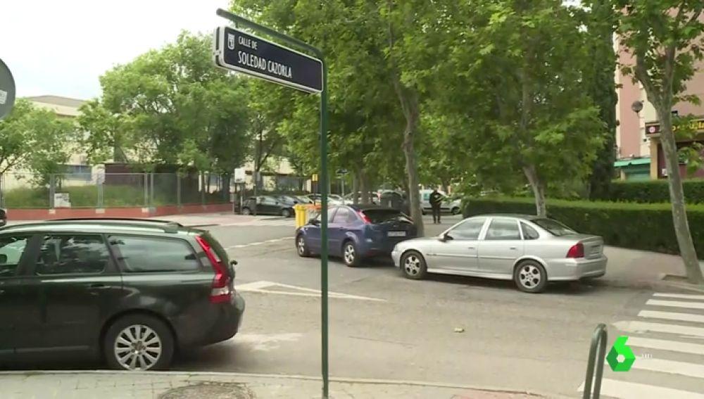 Madrid rinde homenaje a Soledad Cazorla poniendo su nombre a una calle