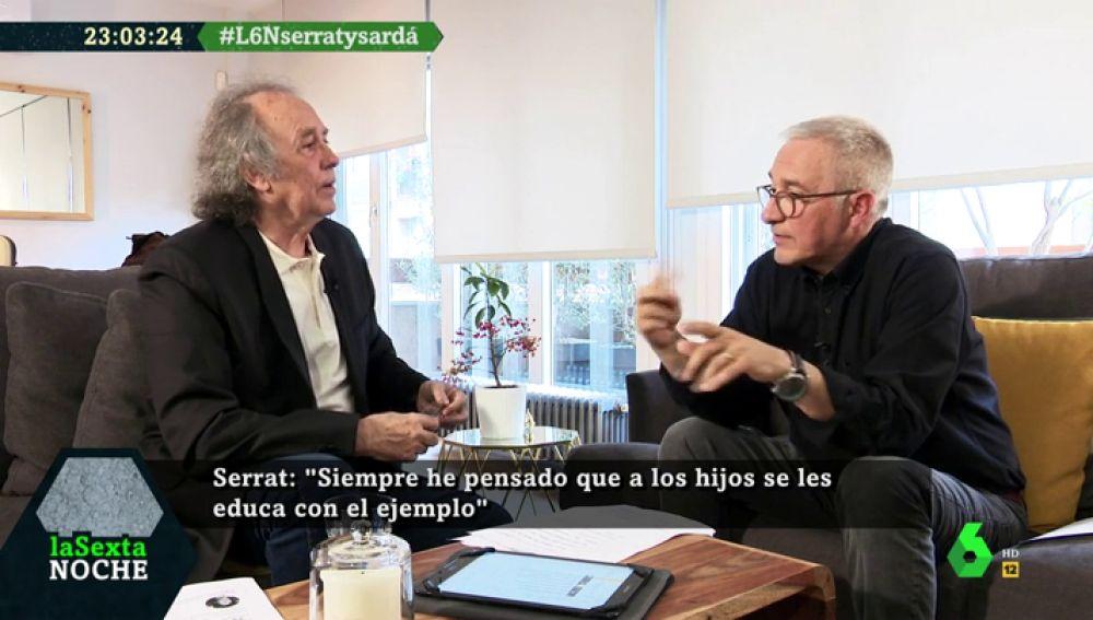 """Joan Manuel Serrat: """"Hasta que los viejos y las mujeres no han salido a la calle, la protesta en este país ha sido un desastre"""""""
