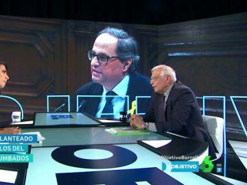 Josep Borrell con Ana Pastor