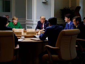 Los líderes del G7 reunidos
