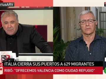 """Joan Ribó, sobre el barco Aquarius: """"Es inhumano el comportamiento de Malta e Italia. Valencia se ofrece como ciudad refugio"""""""