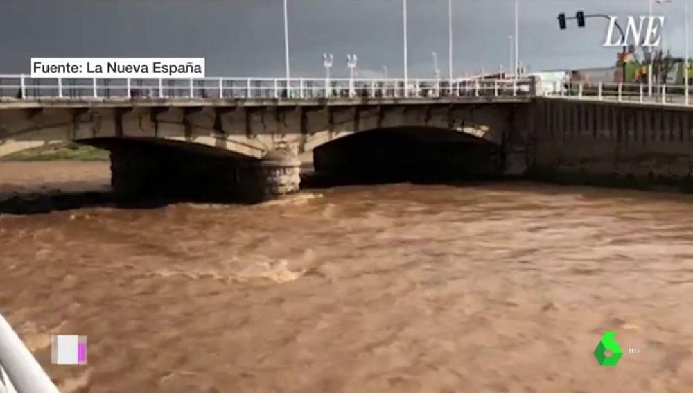 Inundaciones en Gijón