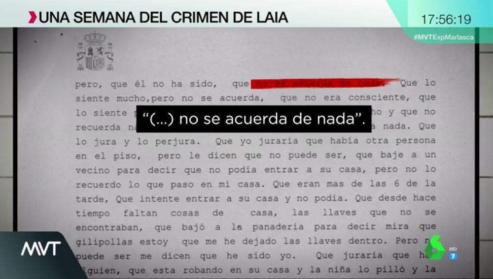 Una semana del crimen de Laia: claves de una investigación con un acusado lleno de incógnitas y contradicciones