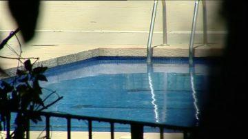 Imagen de archivo de una piscina