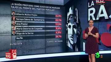 La derecha se inclina por Santamaría y la izquierda por Feijóo: a quién prefieren los partidos para liderar el PP