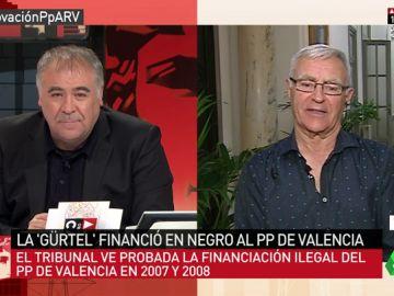 """Joan Ribó: """"El PP iba a las elecciones dopado y haciendo trampa. Usa el dinero público para sus intereses"""""""