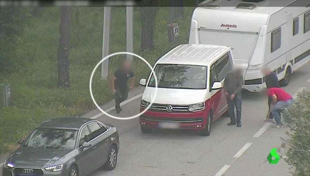 Desarticulada la banda responsable de más de 100 robos a turistas en la AP-7