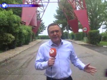La respuesta de Roberto Brasero al mensaje institucional de Zapeando