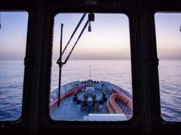 """Foto de archivo del barco """"Aquarius"""" de la ONG francesa SOS Méditerranée"""