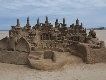 Imagen de un castillo de arena