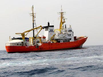 Imagen de archivo del barco 'Aquarius'