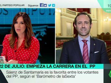"""José Ramón Bauzá, sobre la carrera en el PP: """"Estamos sumando apoyos, ya decidiremos si presentamos una candidatura"""""""