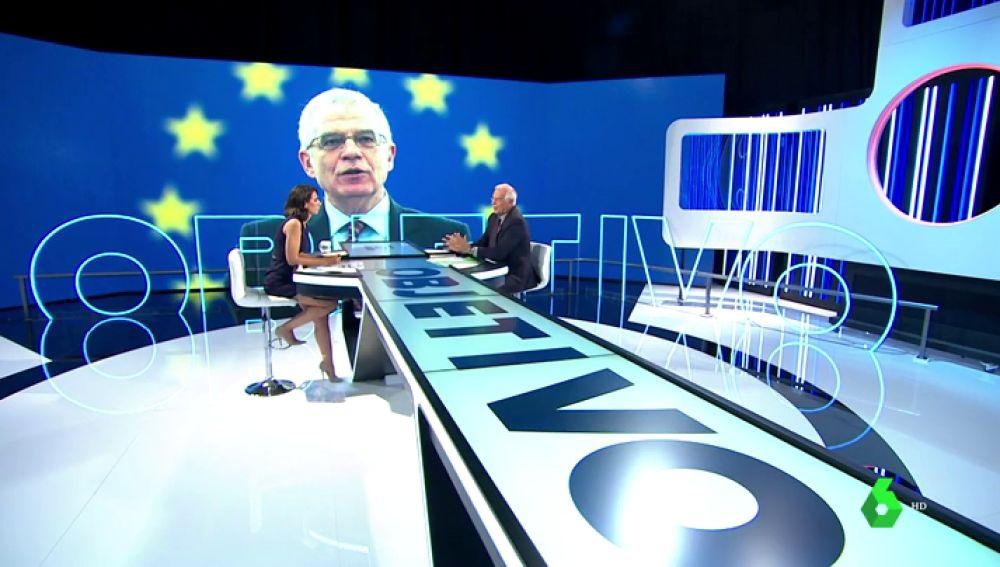 VÍDEO REEMPLAZO | La entrevista de Ana Pastor a Josep Borrell en El Objetivo en siete titulares