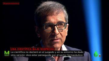 Fernando Santos, bioquímico y exmarido de la doctora Almudena Ramón