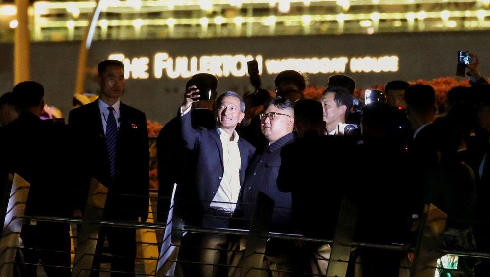 Paseo nocturno de Kim Jong-un