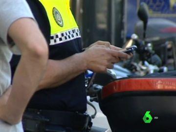 Un agente de Policía Local