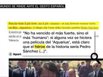 Las reacciones de la prensa internacional al gesto de España