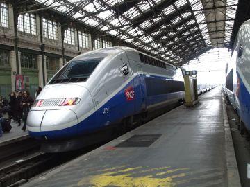 Un tren de Francia