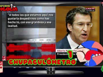 """Mongolia presenta el 'chupaculómetro', el nuevo gadget de Al Rojo Vivo: ¿cuántas veces """"le chupan el culo a Rajoy en el PP""""?"""