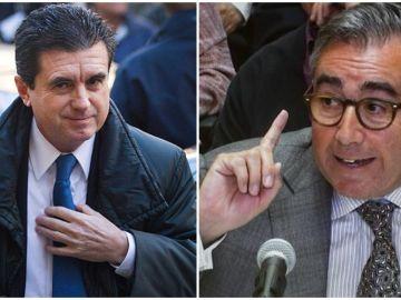 Jaume Matas y Diego Torres, en imágenes de archivo