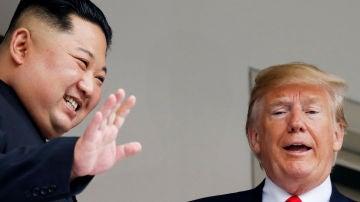 Los líderes de Corea del Norte y de Estados Unidos