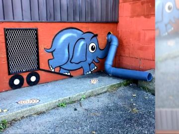Arte urbano de Tom Bob