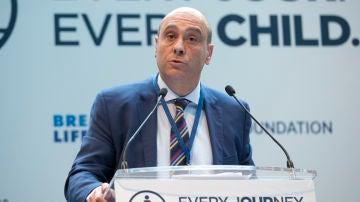 El director ejecutivo de UNICEF España, Javier Martos