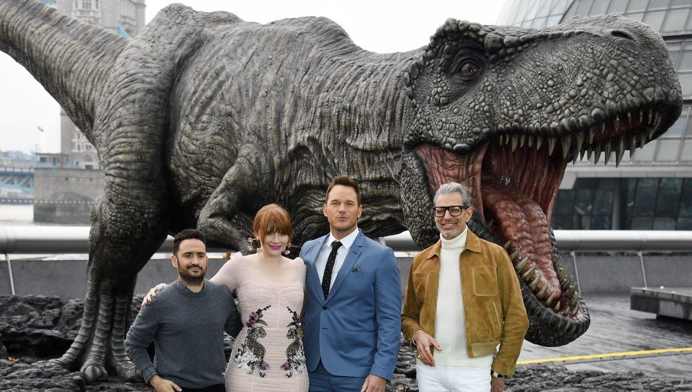 Estreno de Jurassic World en Londres