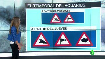 El temporal, otra dura prueba para el Aquarius: su viaje estará lleno de lluvias, viento y fuerte oleaje
