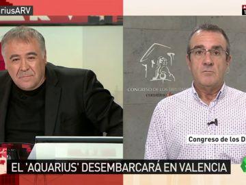 """Juan Pedro Yllanes: """"Acoger al Aquarius es importante, pero debe acompañarse de un cambio de políticas de inmigración"""""""
