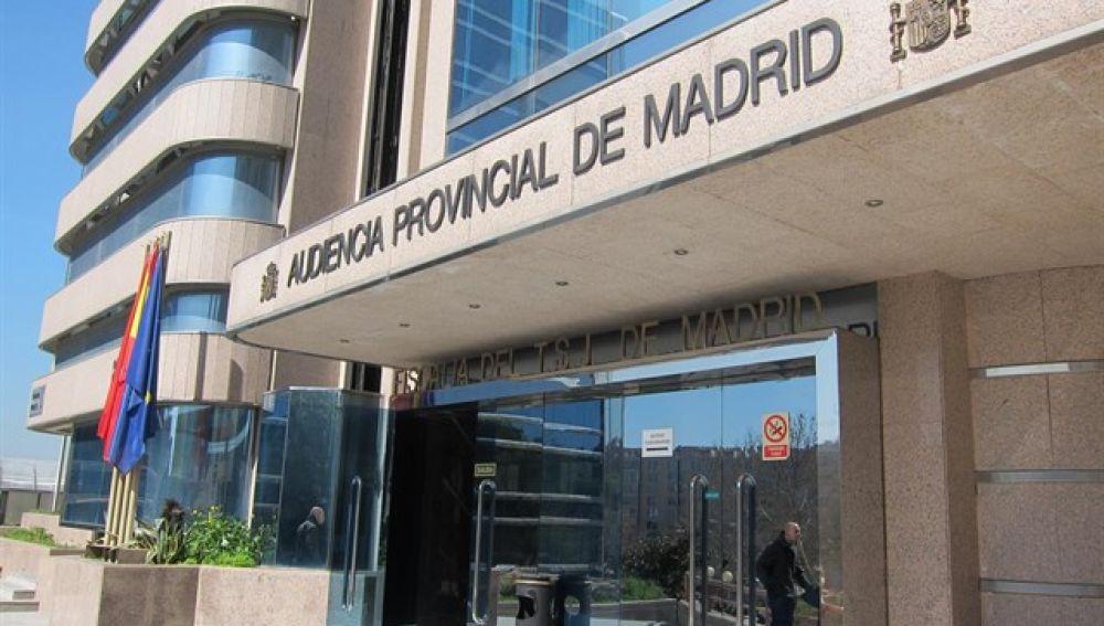 Imagen de archivo de la Audiencia Provincial de Madrid