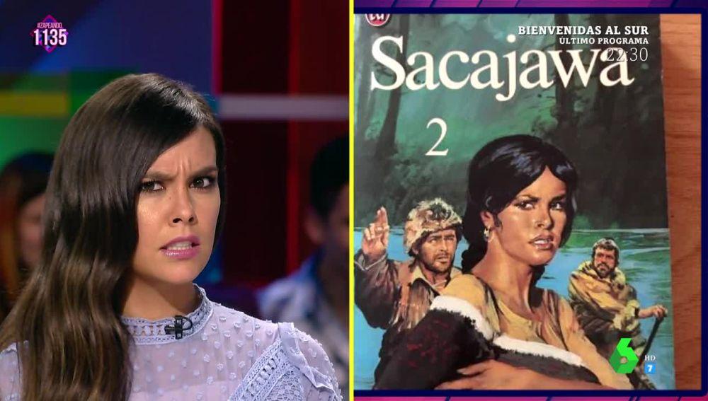 El sorprendente parecido de Cristina Pedroche con Sacajawa, la protagonista india de un libro de 1978