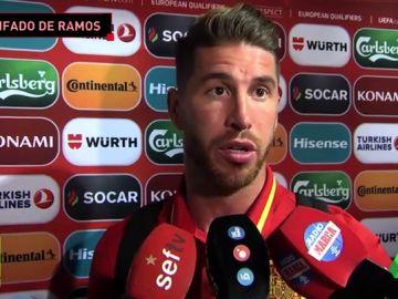 Sergio Ramos, muy disgustado con la destitución de Lopetegui