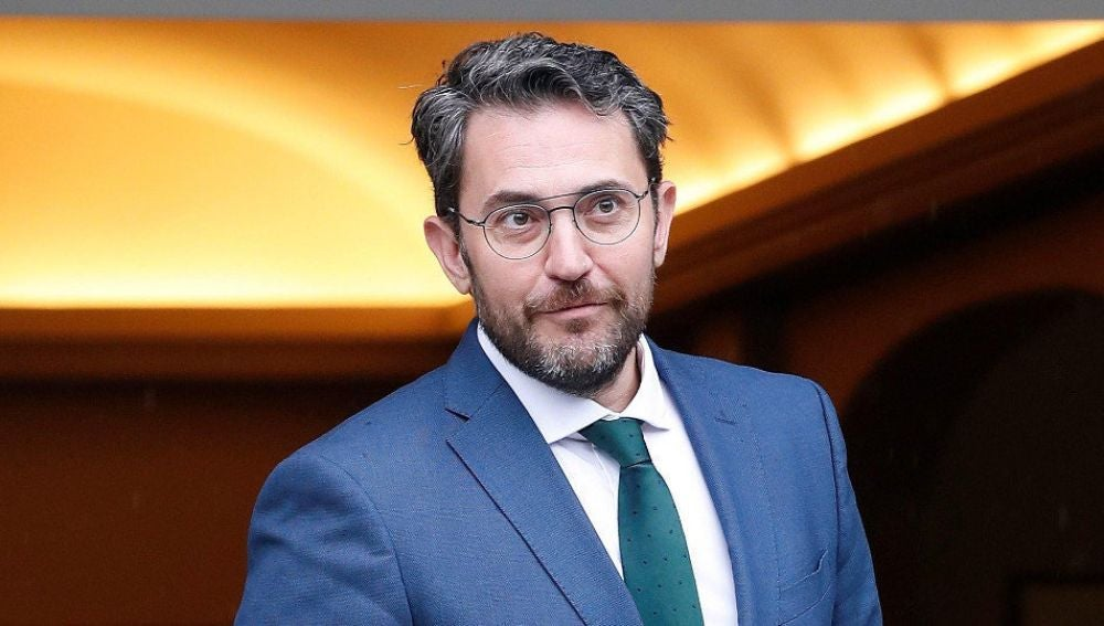 El ministro de Cultura y Deporte, Màxim Huerta