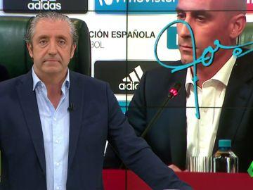 """Josep Pedrerol: """"Si España fracasa la culpa será de Rubiales. Entonces será él y sólo él quien tenga irse a su casa"""""""