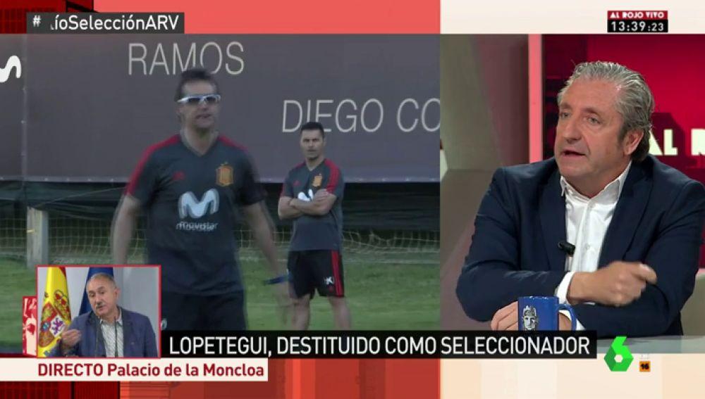 """Pedrerol analiza la destitución de Lopetegui: """"Ha sido asunto de ego del presidente de la RFEF, ha roto a la Selección"""""""