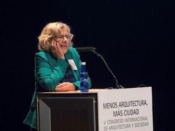 Manuela Carmena en el Congreso de Arquitectura y Sociedad