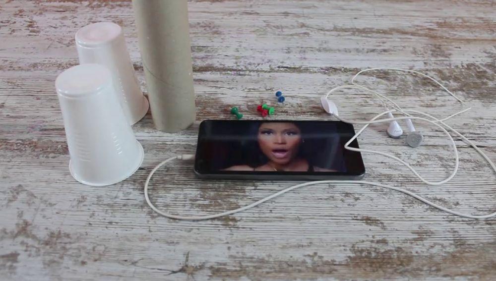 Así puedes fabricar unos altavoces caseros para tu móvil