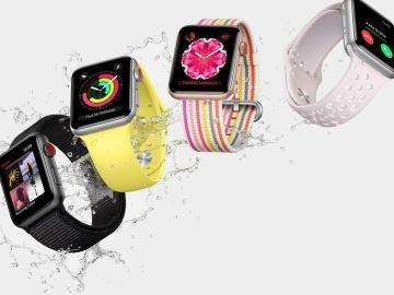 El Apple Watch ya tiene una buena resistencia al agua, pero los próximos modelos la van a mejorar todavía más