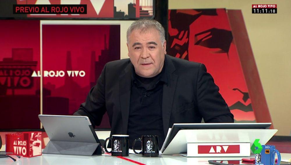 """Así valora Ferreras la dimisión de Màxim Huerta: """"El Gobierno de Sánchez ha demostrado que hay voluntad de ejemplaridad y de dignidad"""""""