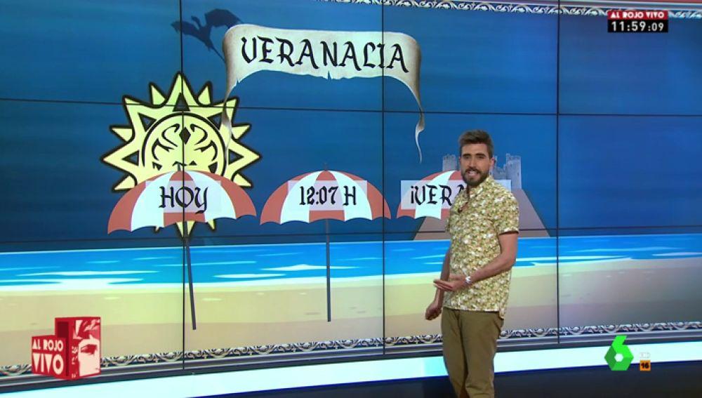 """La razón por la que Adrián Cordero ha dado la previsión meteorológica como """"un hombre recién llegado de Honolulu"""""""