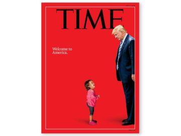 La portada de 'Time' contra la política migratoria de Trump