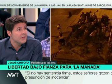 """El alegato de Cintora frente a la decisión de dejar en libertad a 'La Manada': """"Estos tipos pueden estar en Sanfermines"""""""