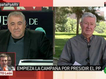 """El ánalisis de Verstrynge: """"'El rey no hace política', ja-ja-ja; Llarena es imparcial, reja-ja-ja; la revolución del PP me da la risa"""""""